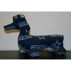 Dallas Cowboys Stuffed Dachshund