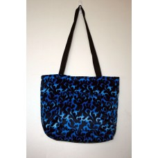 Blue Dragon Flame Tote Bag