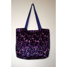 Purple Dragon Flame Tote Bag