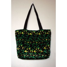 Green Dragon Flame Tote Bag