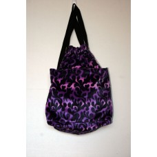Purple Dragon Flame Backpack