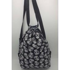 Grey Skull Backpack