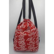 Red Hawaiian Backpack