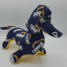 Los Angeles Chargers Stuffed Dachshund
