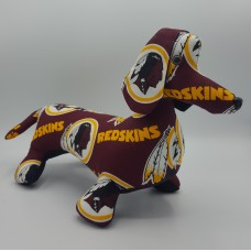 Washington Redskins Stuffed Dachshund