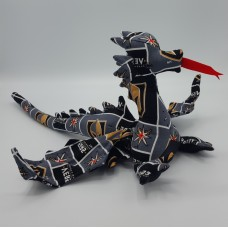 Golden Knights Large Dragon
