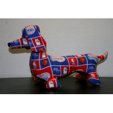 Los Angeles Clippers Stuffed Dachshund