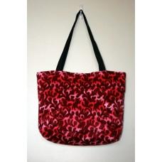 Pink Dragon Flame Tote Bag