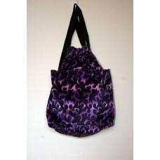 Purple Dragon Flame Backpack
