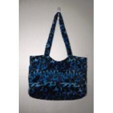 Blue Dragon Flame  Medium Handbag